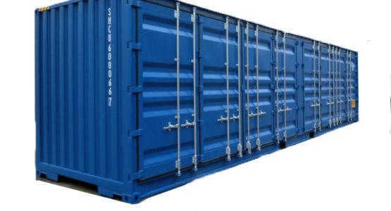 40-футовый High Cube контейнер.